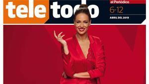 Portada del suplemento 'Teletodo' protagonizada por Eva González.