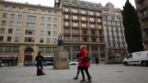 Edificio que albergará un 'hub' de 'healthtech' de Barcelona Tech City en Via Laietana, 26