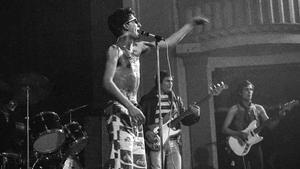 La Banda Trapera del Río, en la Aliança del Poblenou, el 4 de diciembre del 1977.