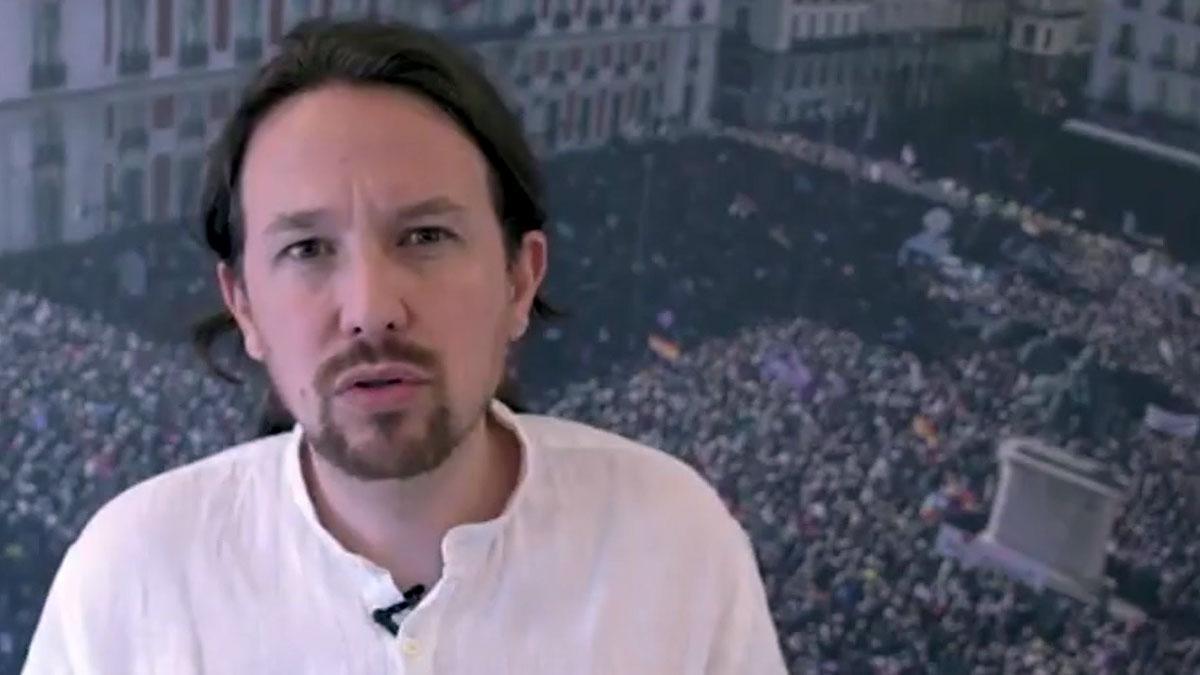 Pablo Iglesias comunica que está dispuesto a no estar en el Gobierno.