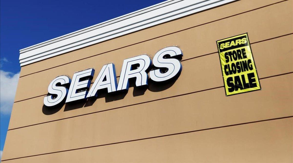Grandes almacenes de Sears en EEUU.