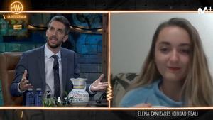 """Elena Cañizares también se cuela en 'La resistencia': """"Mis compañeras me quieren denunciar"""""""