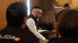 David Oubel, el parricida de Moaña, fue el primer condenado en España a la prisión permanente revisable, en el 2017, por asesinar a sus dos hijas de 5 y 9 años.