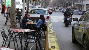 El Defensor del Poble arxiva la queixa d'un grup moter contra els blocs de ciment a Barcelona