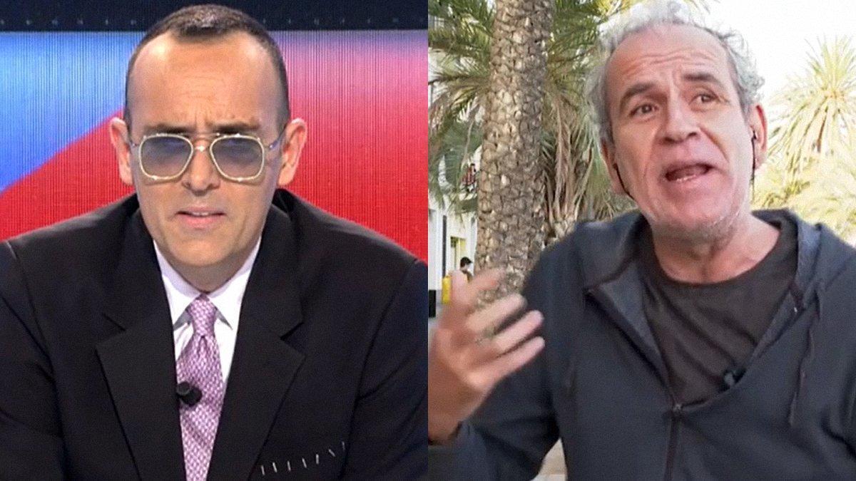 """Tensión entre Risto Mejide y Willy Toledo: """"En este programa hacemos lo que nos da la gana"""""""