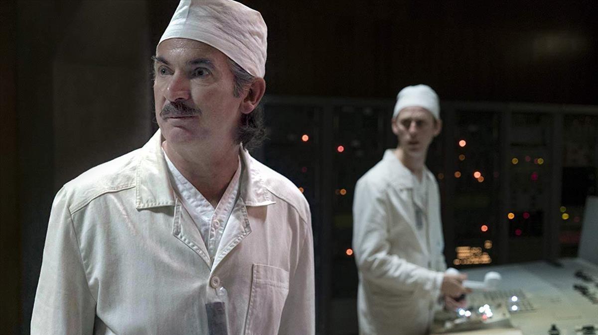 El actor inglés Paul Ritter