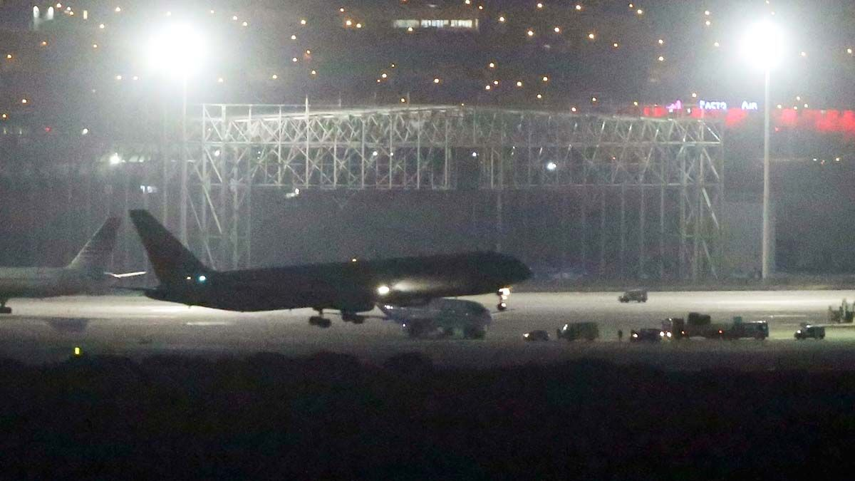 L'avió d'Air Canada aterra sense incidents a Madrid Barajas   DIRECTE