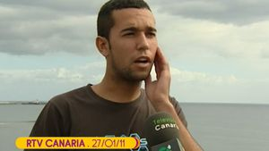 'Sálvame' publica unas imágenes de Omar, novio de Anabel Pantoja, tras sufrir una paliza en 2011