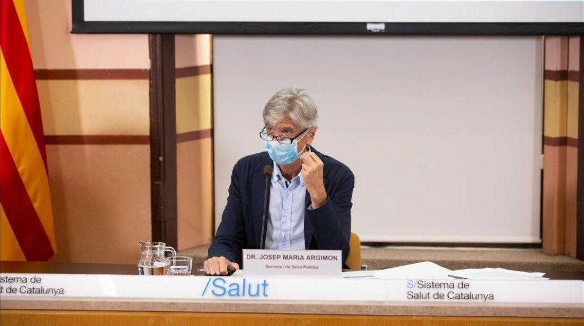 El secretario de Salut Pública de Catalunya, Josep Maria Argimon.