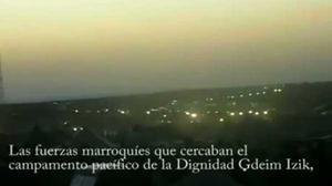 Així va entrar l'Exèrcit marroquí als campaments sahrauís