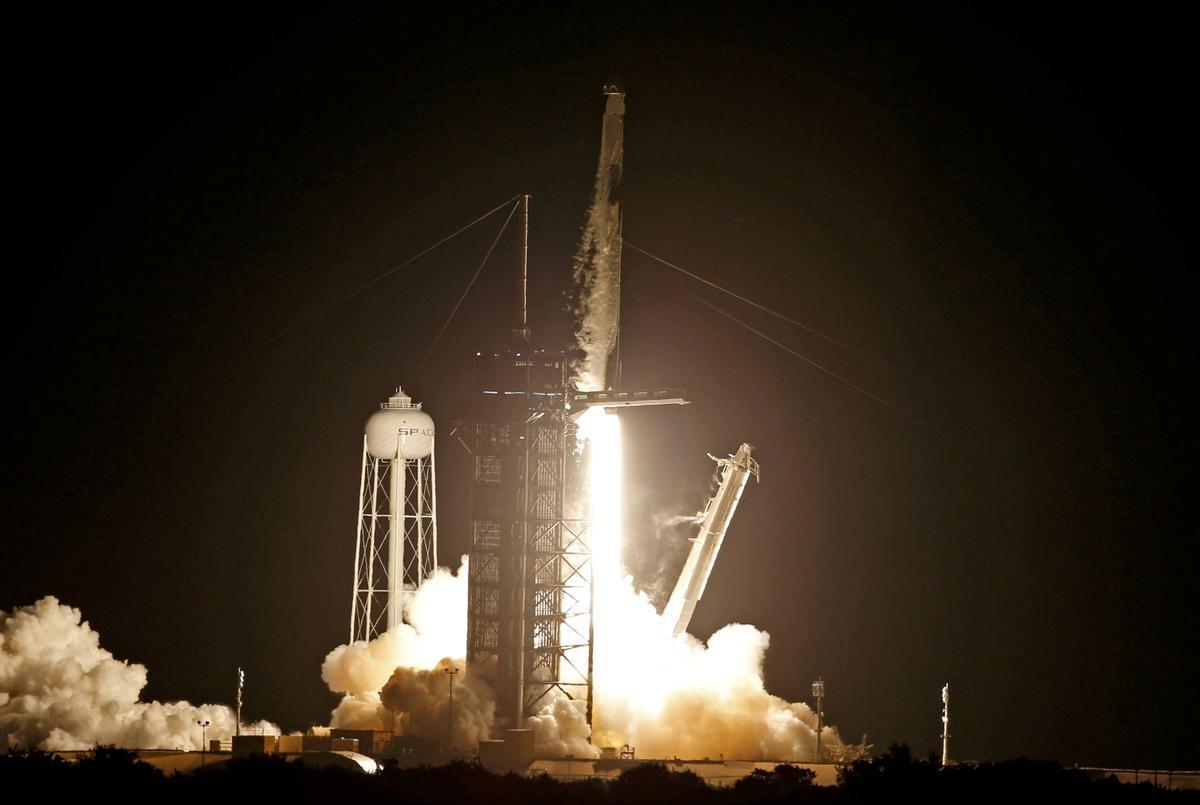 Despgue de la misión de SpaceX
