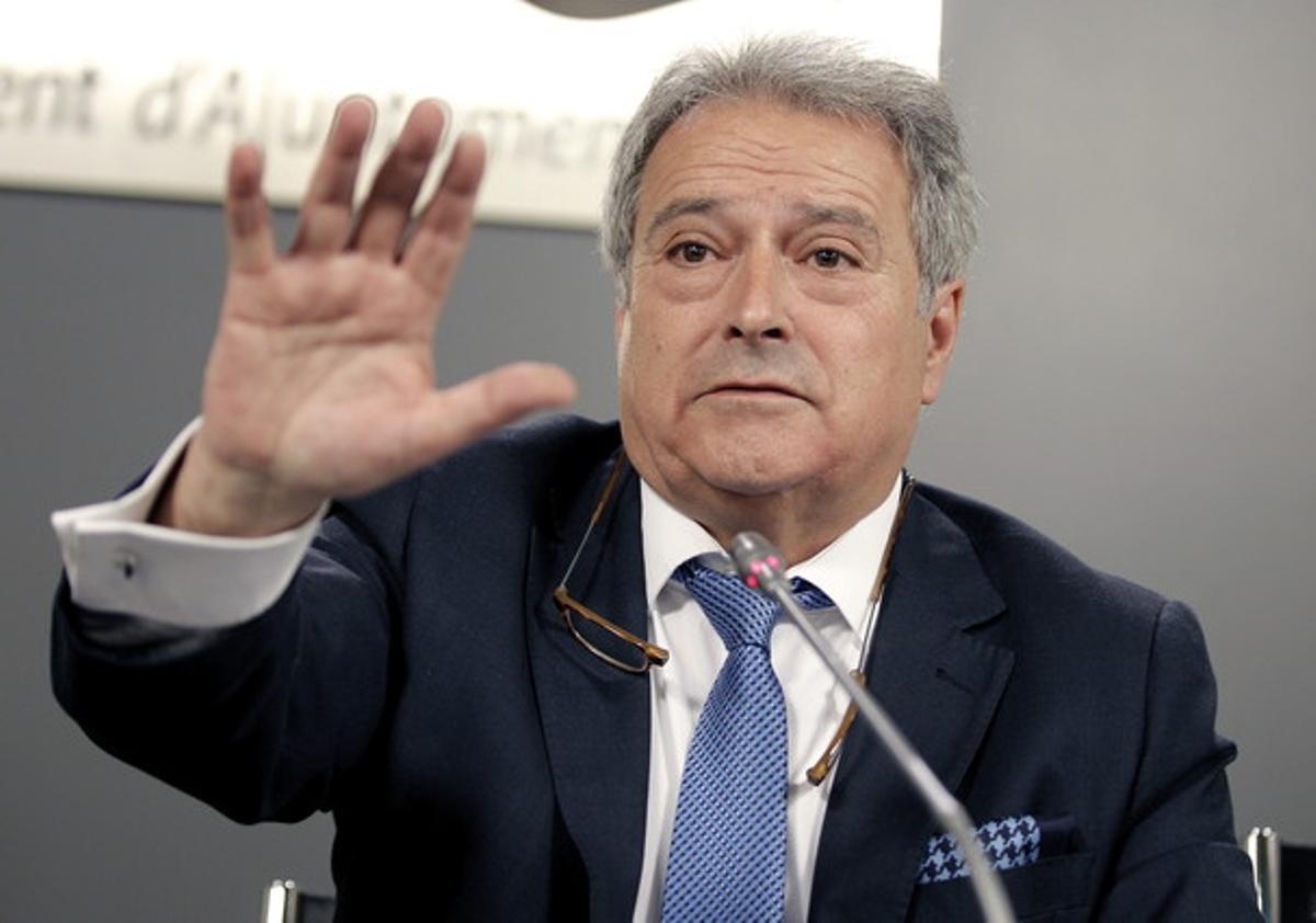 El exalcalde de Xàtiva y expresidente de la Diputación de Valencia, Alfonso Rus, en una imagen de archivo.