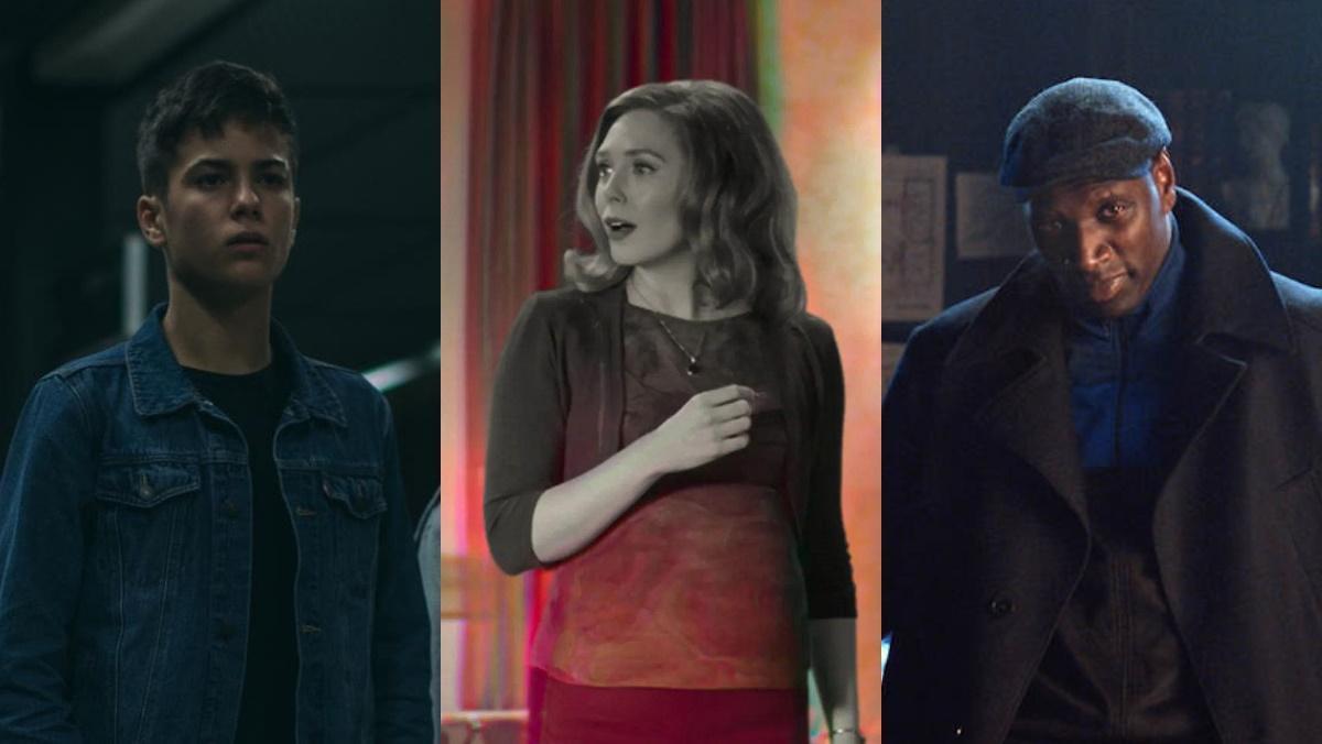 Imagen de 'Los espabilados', 'Bruja Escarlata y Visión' y 'Lupin'.