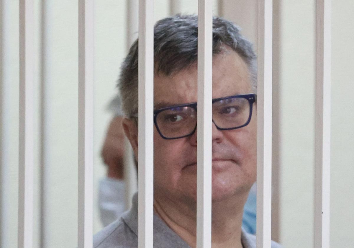 El líder opositor Viktor Babariko.
