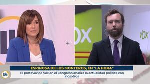 Mónica López demana perdó a Espinosa de los Monteros: «Em vaig posar com una hidra»