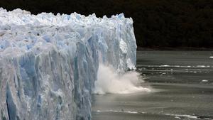 Deshielo del glaciar de Perito Moreno, entre Chile y Argentina.