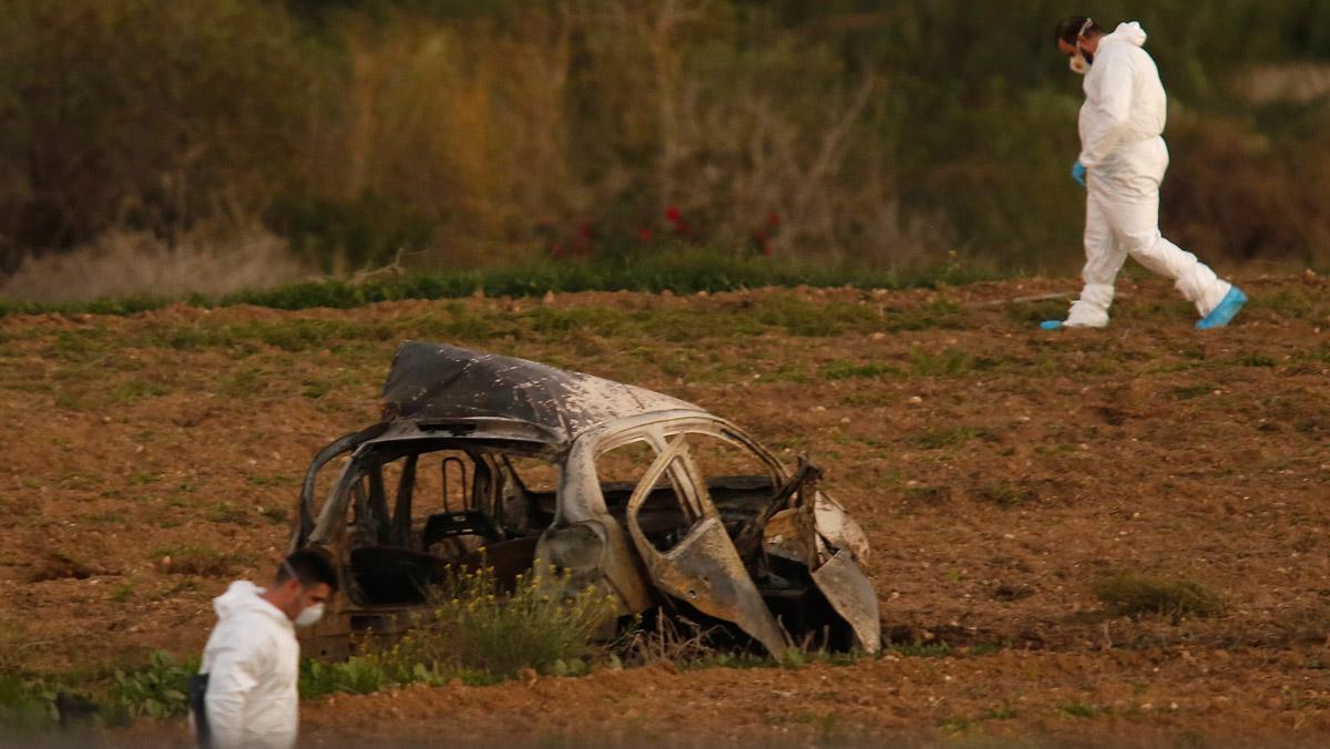 Daphne Caruana de 53 años ha fallecido este lunes en la explosión de un coche bomba.