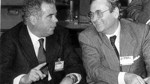 Rosendo Naseiro y Ángel Sanchis, extesoreros del PP.