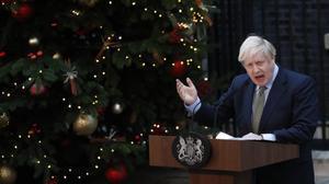 Johnson pone la directa hacia el 'brexit'