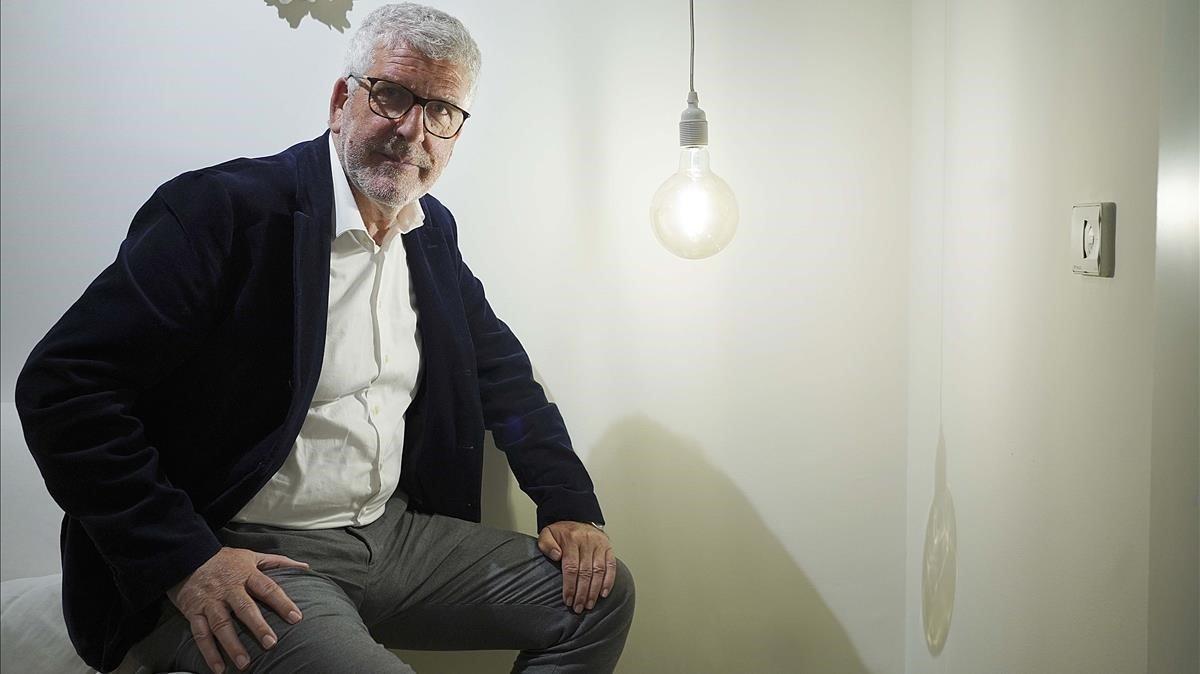 Gregorio Luri, durante la entrevista con EL PERIÓDICO.