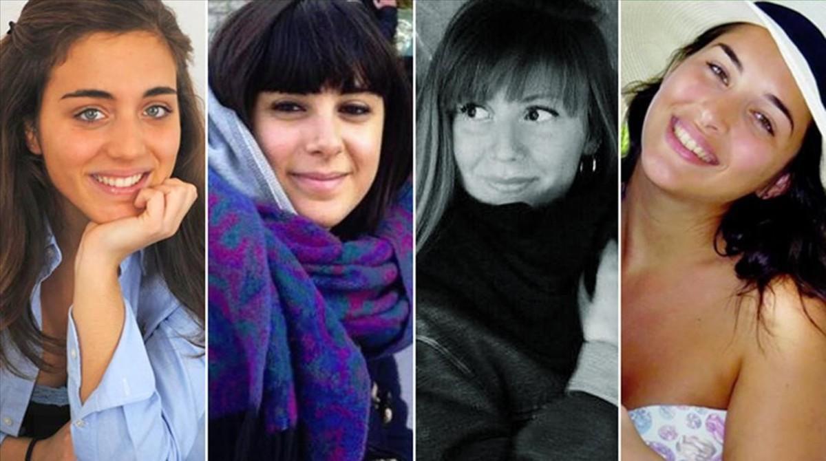 De izquierda a derecha, Francesca Bonello, Valentina Gallo, Serena Saracino y Elena Maestrini.