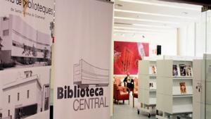 La Biblioteca Central de Santa Coloma de Gramenet tanca tres mesos per obres