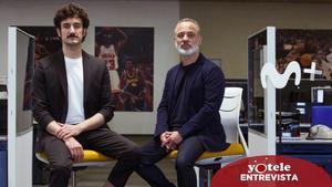 Miki Esparbé y Javier Gutiérrez, protagonistas de 'Reyes de la noche'