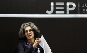 La magistrada Julieta Lemaitre, de Justicia Especial para la Paz (JEP).