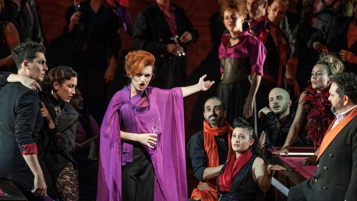 'La Traviata', en el Festival Castell de Peralada.