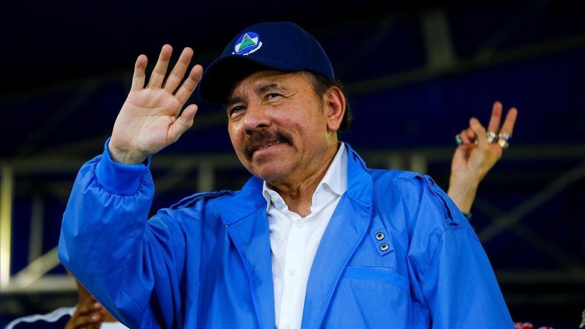 Daniel Ortega, en una imagen de archivo.