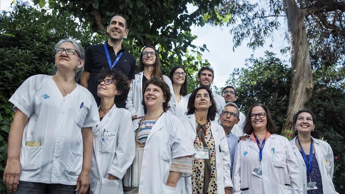 Los profesionalesdel comité multidisciplinar de sarcomas del Hospital Vall d'Hebron, centro de referencia en este tipo de cáncer.