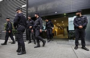 Registro de la sede de CDC en Barcelona, en octubre del 2015