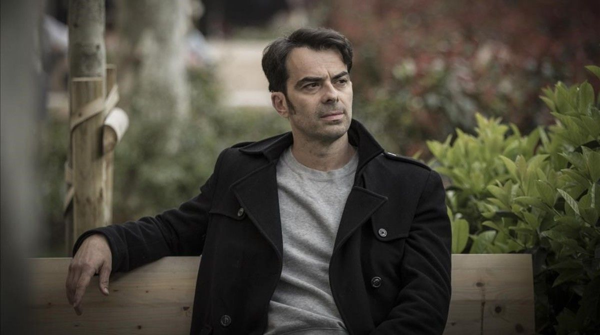 El actor y director David Selvas esta semana, en Barcelona.