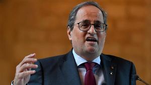 ¿Quin serà el sou de Torra com a expresident de la Generalitat?