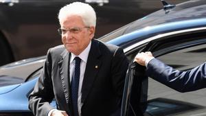 Mattarella encarrega al president dels diputats mediar en la crisi de Govern