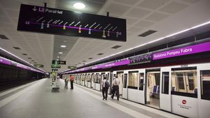 La L2 volverá a funcionar tras los cortes parciales entre las estaciones de Sagrada Familia y Paral·lel.