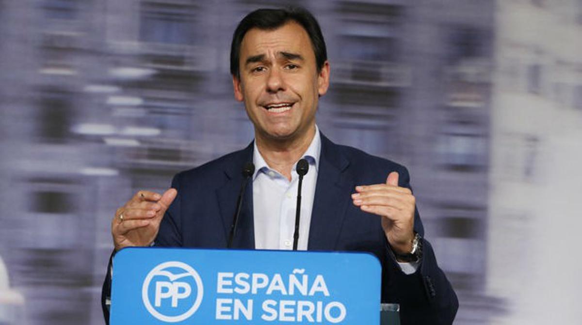 El coordinador general del PP, Fernando Martínez-Maillo.