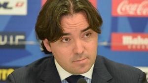 El presidente del Rayo Vallecano, Raúl Martín Presa.