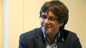 El 'expresident' del Govern Carles Puigdemont.