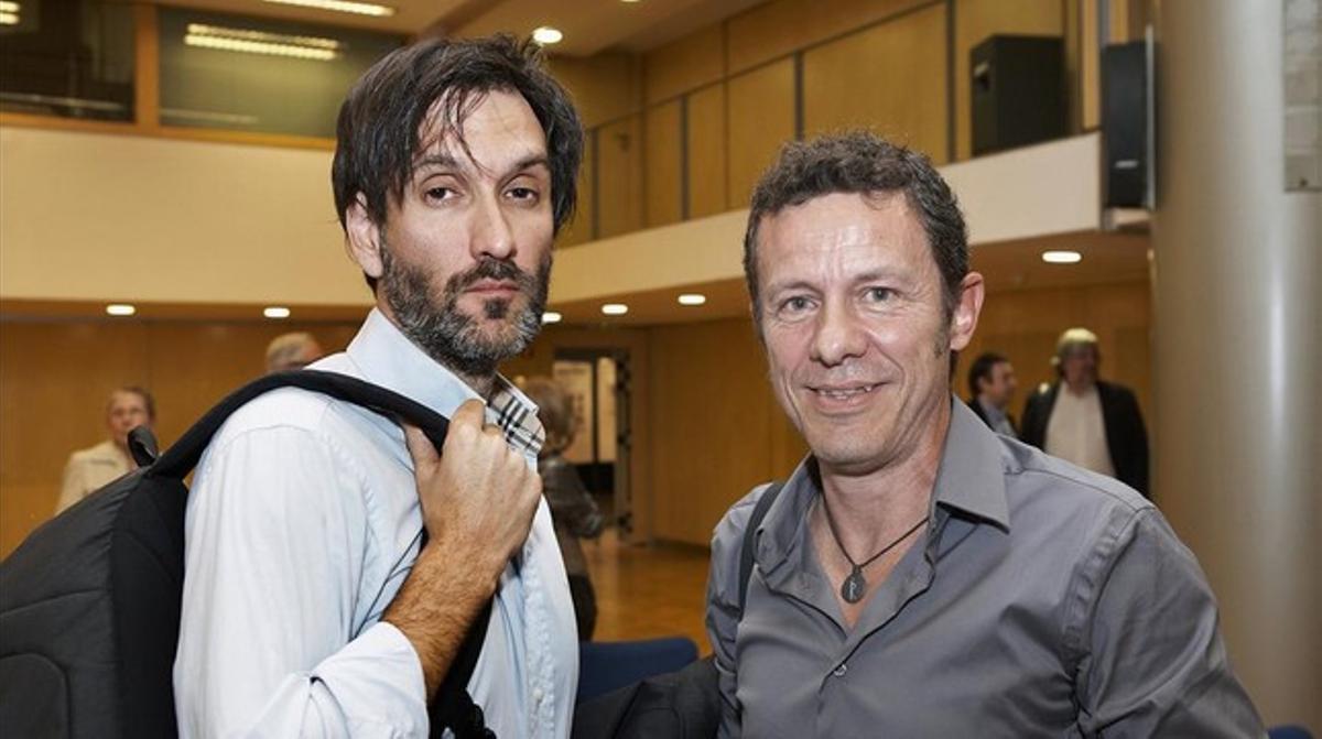 Garcia Vilanova y Espinosa, el 24 de mayo, en Barcelona.