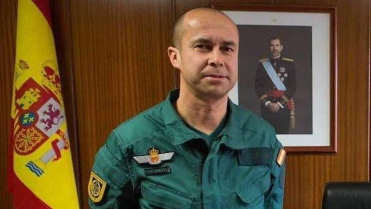El teniente coronel Jesús Gayoso, jefe del Grupo de Acción Rápida (GAR) de la Guardia Civil, que ha muerto este viernes por coronavirus.