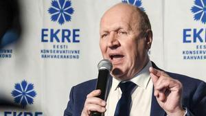 El ministro del Interior estonio, Mart Helme.