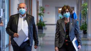 Euskadi s'enfronta «sens dubte» a la segona onada de la Covid: «No és possible una nova normalitat»
