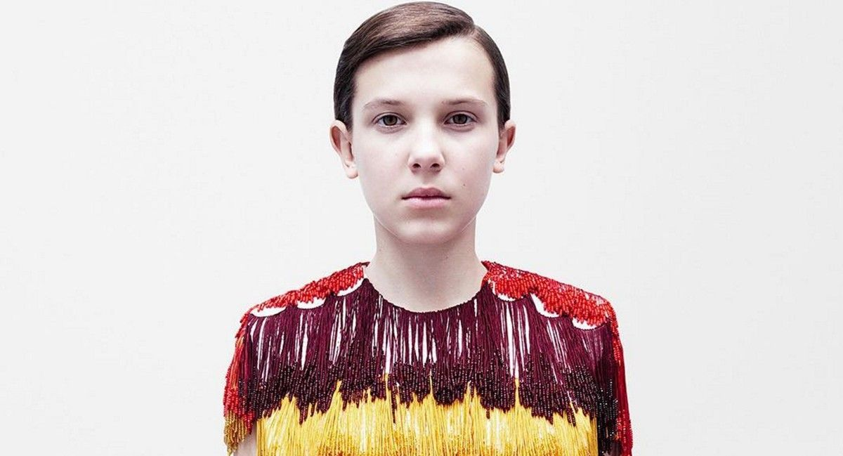 La chica de 'Stranger Things' se asoma a la moda