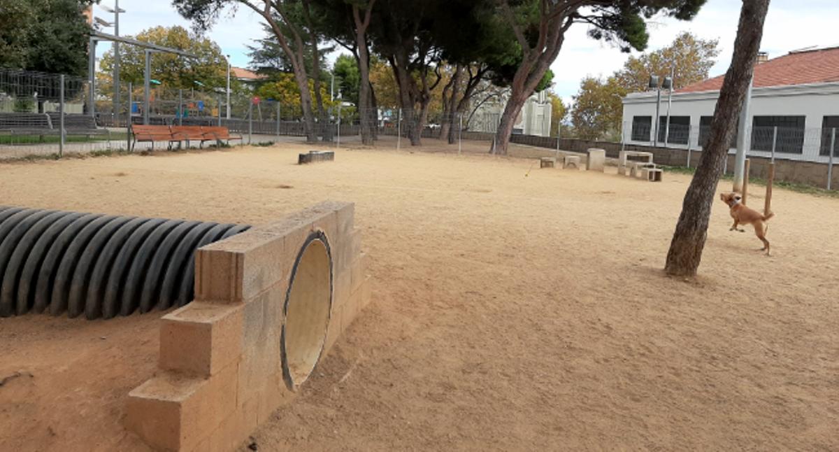 Parque para perros en Sabadell