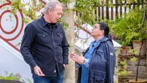 Bertín Osborne y María del Monte en la nueva entrega de 'Mi casa es la tuya'.