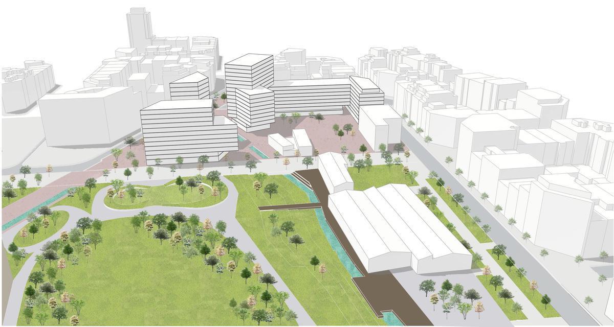 Un pas endavant en la transformació de les Glòries: més vivenda i equipaments públics