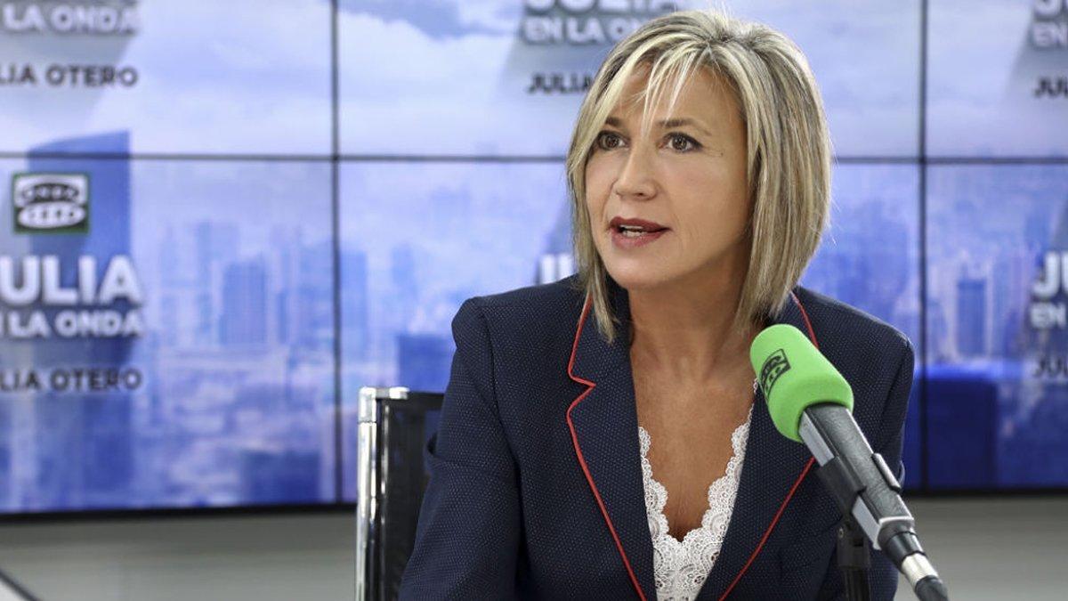 Julia Otero se retira temporalmente de la radio tras anunciar que tiene cáncer