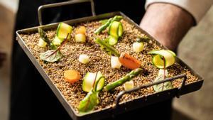 'Socarrat' de quinoa de Casa Madre.