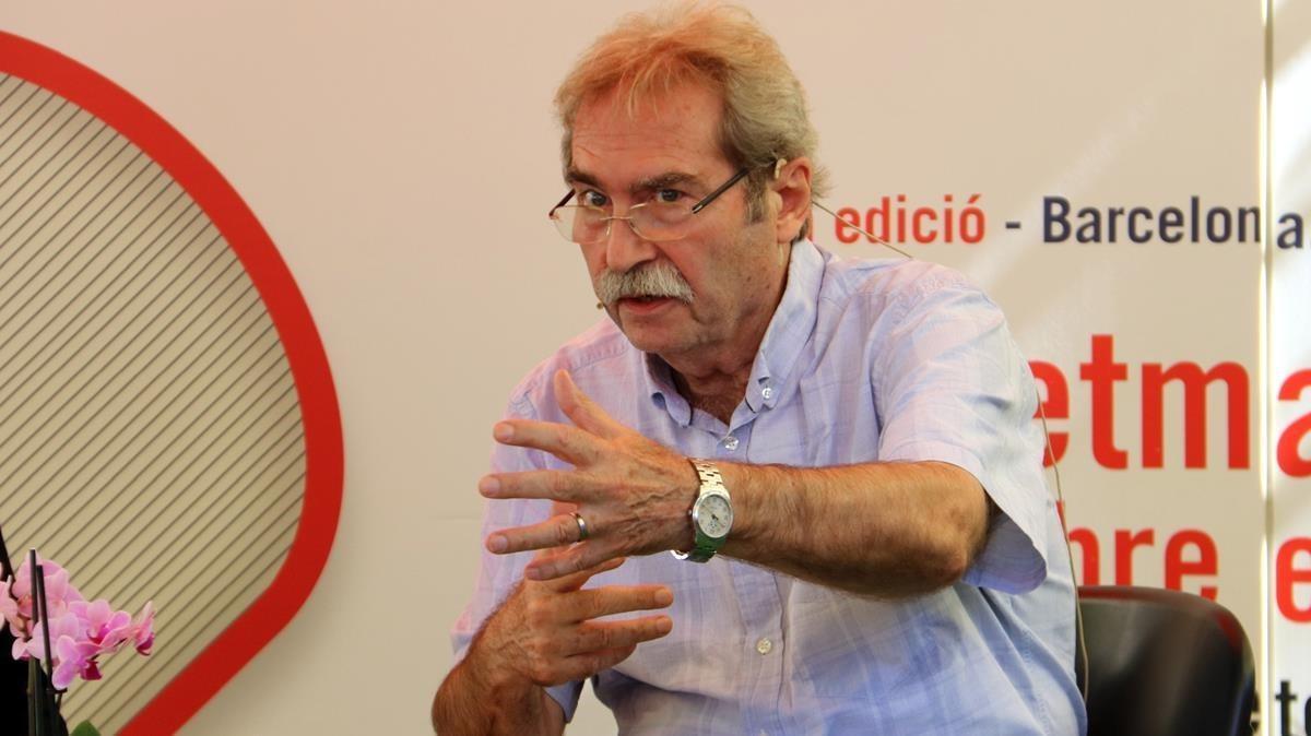 Jaume Cabré, en la Setmana del Llibre en Català.